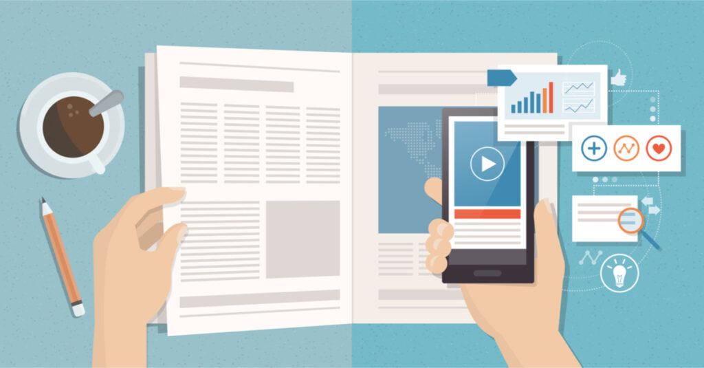 8 Tips for Mixing Print and Social Media