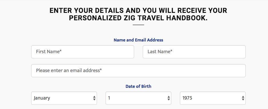 ZIG Handbook Form